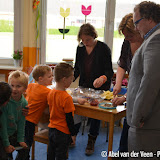 Burgemeester Kuin op basisscholen tijdens de Koningsspelen 2017 - Foto's Abel van der Veen