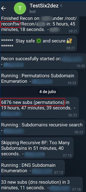 Permutaciones de Gotator con reconFTW 2