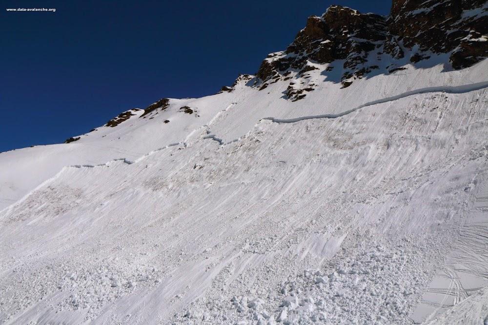 Avalanche Haute Maurienne, secteur Pointe d'Andagne, Secteur hors pistes des 3000 - Photo 1