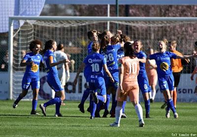 KAA Gent Ladies kloppen Anderlecht in leuke bekermatch voor vol huis