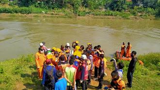 Tim Gabungan Sudah Ketemukan Nizam Korban Tenggelam Di Sungai Citarum