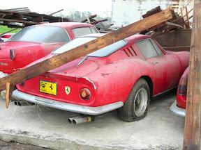 Abandoned Ferrari