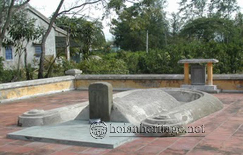 Mộ ông GuSokukun - Thương nhân Nhật Bản - Khối An Phong - Phường Tân An