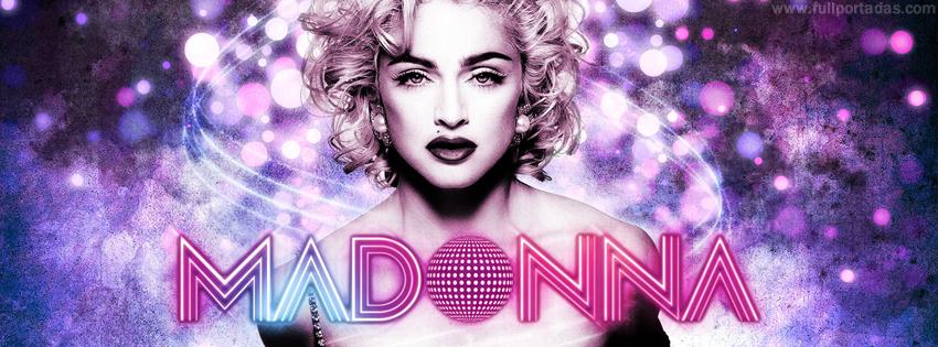 Portadas para facebook Madonna