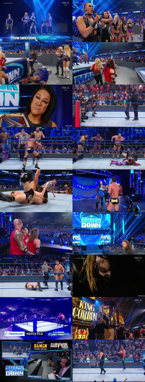 Screen Shot Of WWE SmackDown Live 22nd November 2019 HDTV 480P 300MB