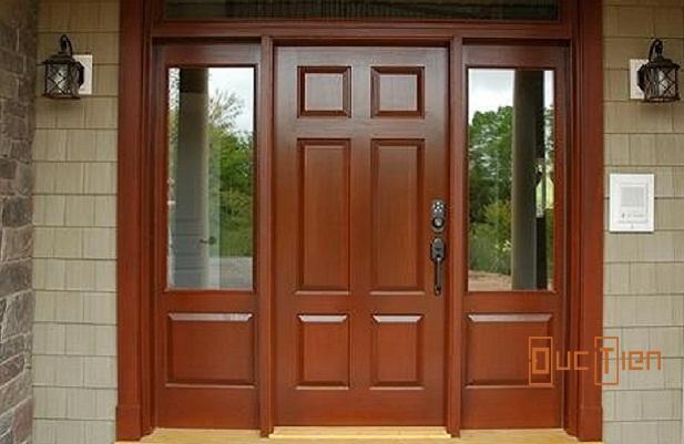mẫu cửa gỗ lim