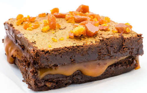 Gerry's Kitchen Caramel Brownie