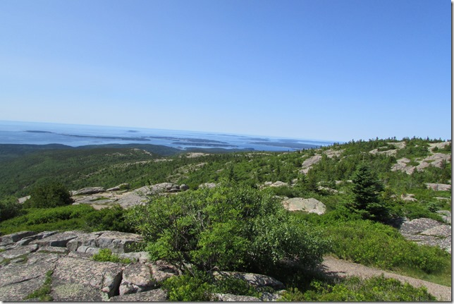 Islands Viewed from the top of Cadalliac Mountain