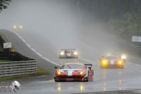 The morning warmup and some practices time was held in awful conditions (PHOTO: Ferrari)