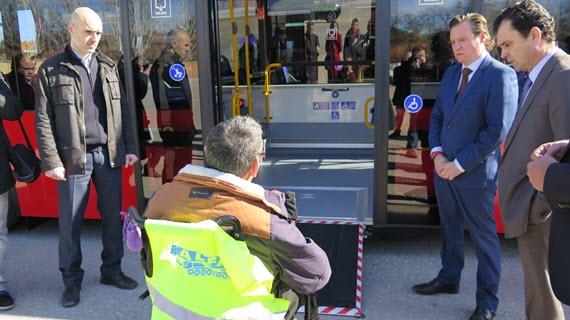 4 nuevos autobuses urbanos GNC para Alcalá de Henares
