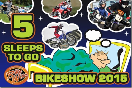 Bikewise Countdown (5 sleeps) Graphic