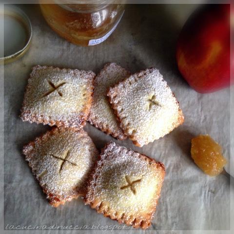 La Cucina Di Nuccia Ravioli Di Pasta Frolla Alle Mele