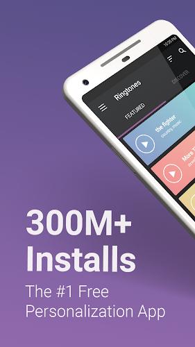 ZEDGE™ Ringtones & Wallpapers Android App Screenshot