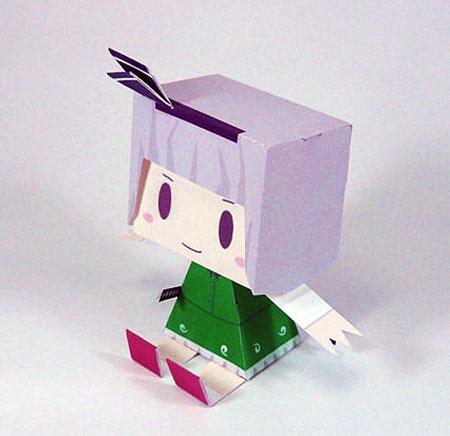 Touhou Project Youmu Konpaku Paper Toy