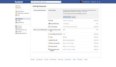 Hướng dẫn tắt thông báo âm thanh của Facebook
