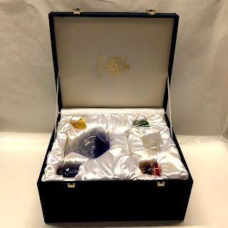 Fabergé Crystal Caviar & Vodka Set