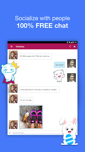 free go chat app use in pc