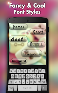 Hindi keyboard-Cool fonts, Themes, Sounds & Photos - náhled