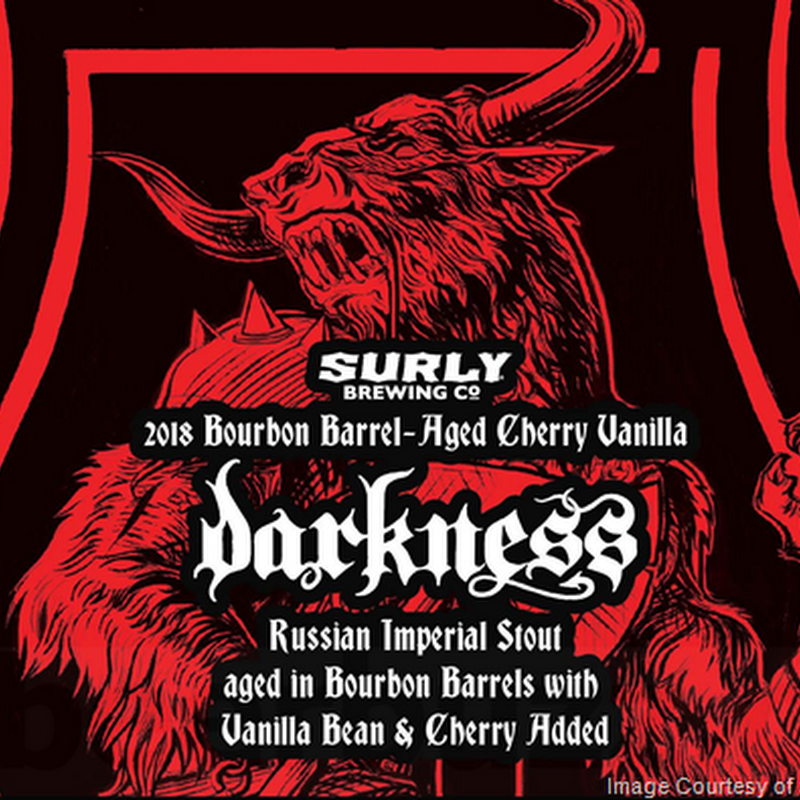 Surly Adding Darkness Variants:  Bourbon Cherry, Rum Coconut & Fernet