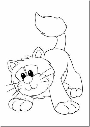 gatos colorear jugarycolorear (1)