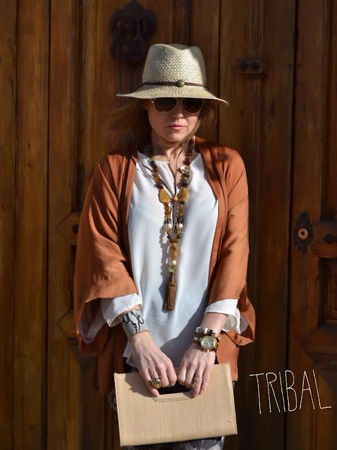 Estilo tribal-étnico moda 2014