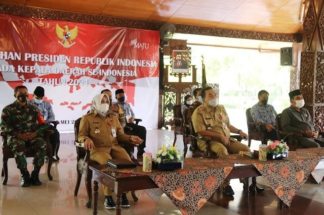 Bupati Blora Kembali Terima Pengarahan dari Presiden Jokowi