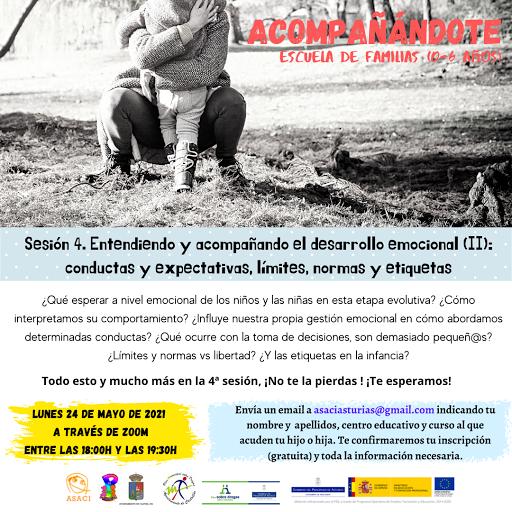 ACOMPAÑÁNDOTE - SIGUIENTES SESIONES 14 Y 28 DEJUNIO