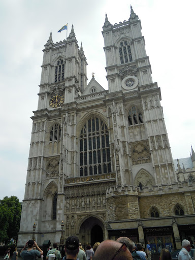 Westminster Abbey. From A Guide to Abbeys and Cathedrals in the UK