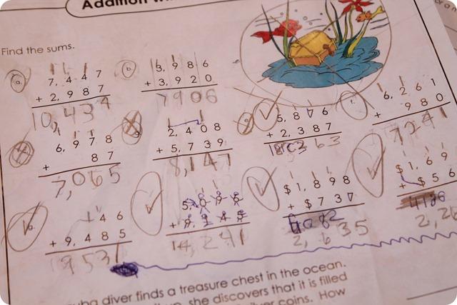 August 2015 Homeschooling 6 – Sharon Wells Math Worksheets