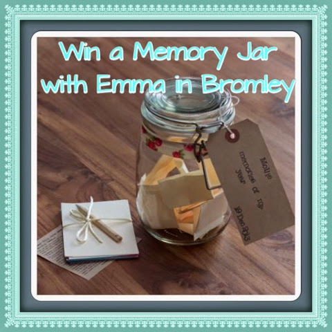 Emma in Bromley - Win a Memory Jar
