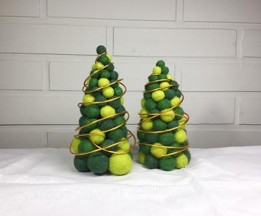 joulu kuusi huovutus märkähuovutus huopapallo