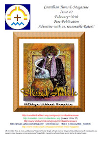 Cover of Correllian Times Emagazine's Book Issue 42 FEBRUARY 2010 Blessed Imbolc