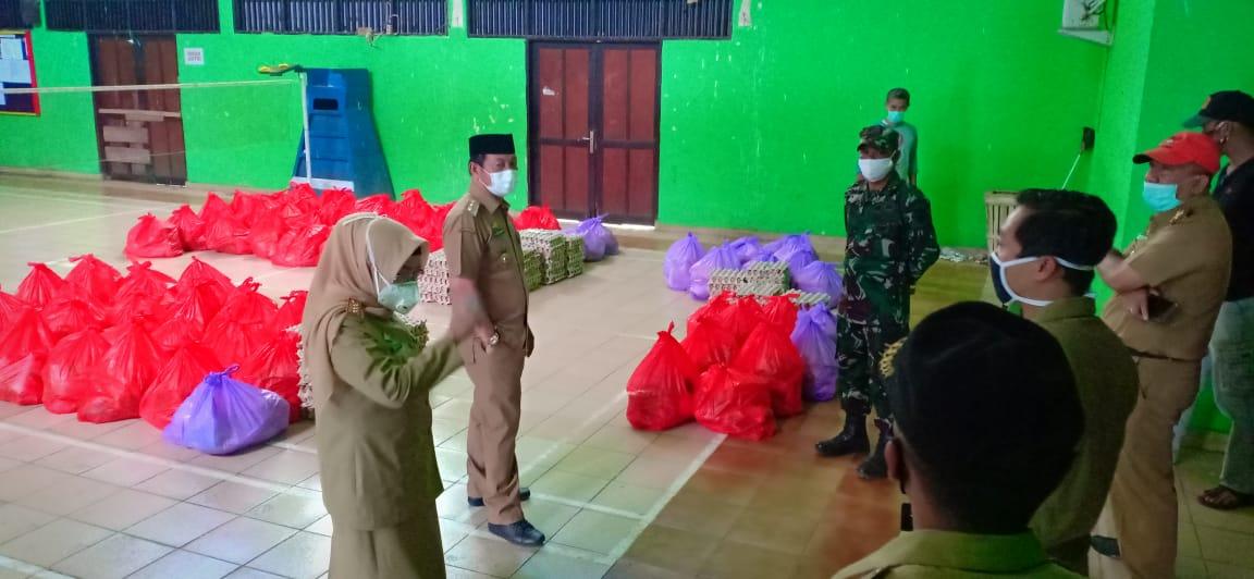 Wabup Gowa Lakukan Pengecekan Pendistribusian Bantuan di Empat Kecamatan