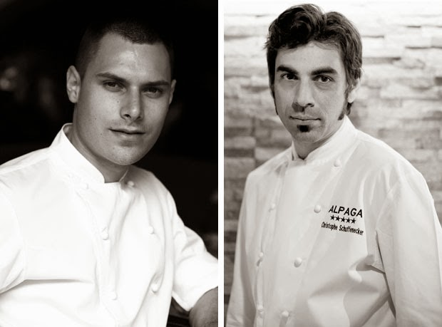 Chef Julien Gatillon / Chef Christophe Schuffenecker