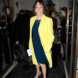WWW.ENTSIMAGES.COM - Esther Rantzen arriving at  Costa Book of The Year Award 2012 at Quaglino's Bury Street London January 29th 2013                                                         Photo Mobis Photos/OIC 0203 174 1069