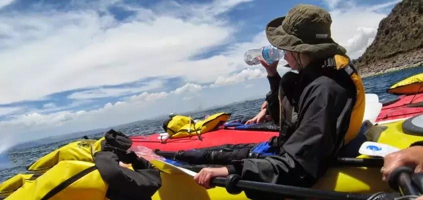 Kayak en llachón | KAYAK EN EL LAGO TITICACA
