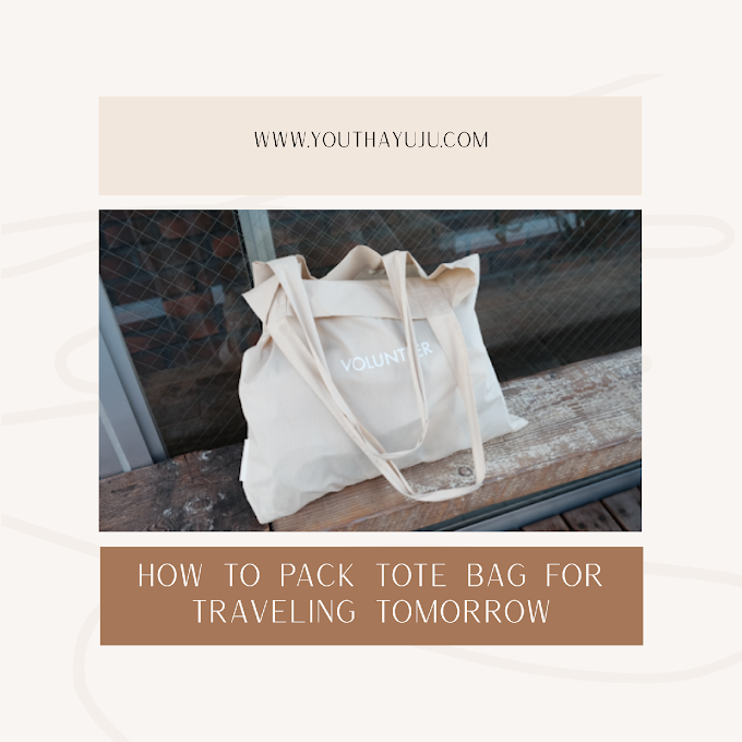 Bawa bag Tote sahaja untuk travel