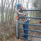 Post has to be just right for gate to catch