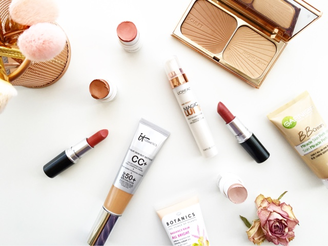 makeup for that summer glow combination skin