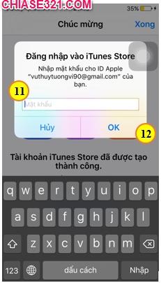 cách tạo tài khoản ID Apple cho iPad để tải game ứng dụng trên App Store