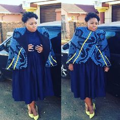 Traditional Wedding Dresses Sotho 2017 Styles 7