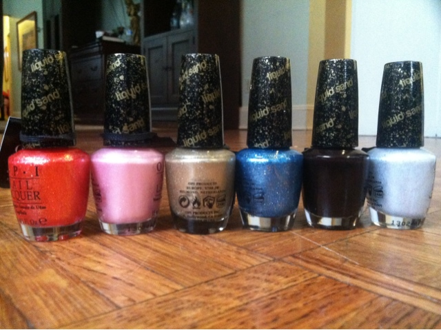 Hey Look At My Nails Bond Girls Liquid Sand Collection