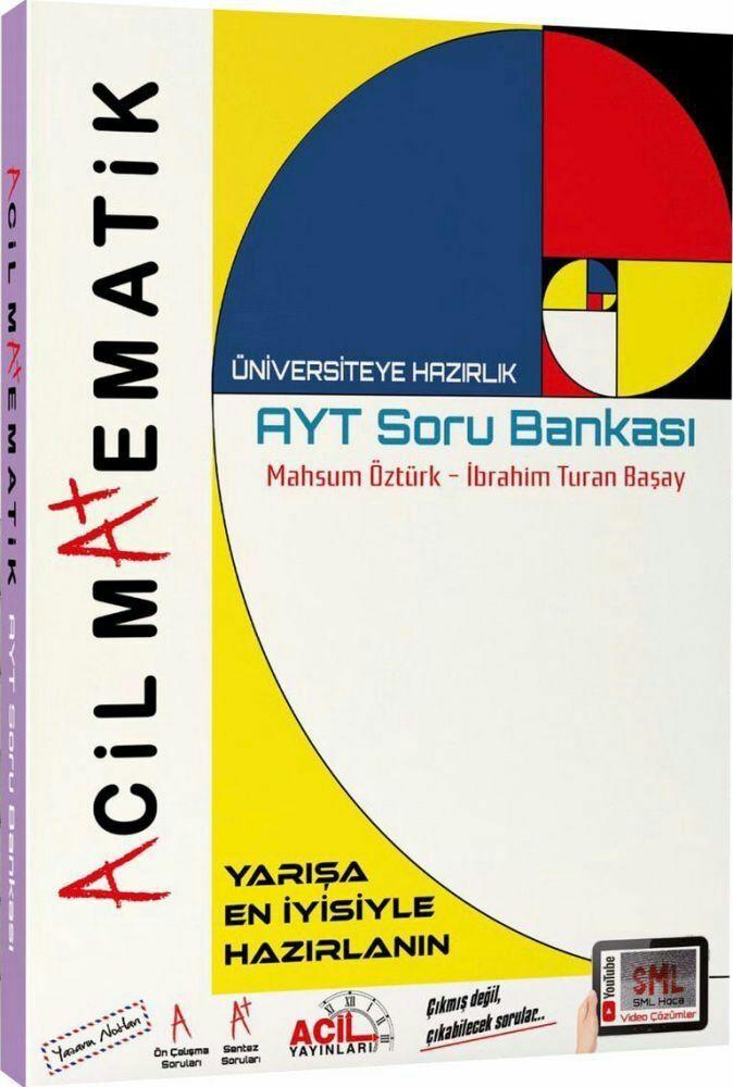Acil Yayınları Ayt Matematik Soru Bankası