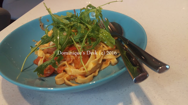 Seafood Pasta for the adults