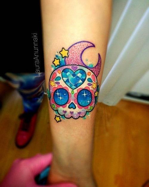 esta_jia_incrustada_crnio_kawaii_tatuagem
