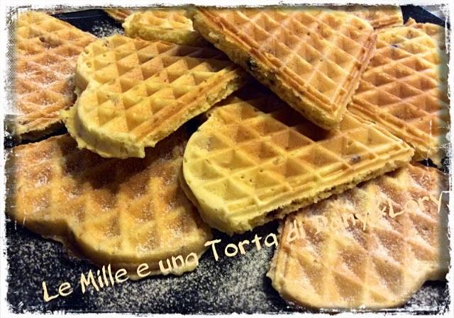 waffle morbidi allo yogurt e cocco senza burro