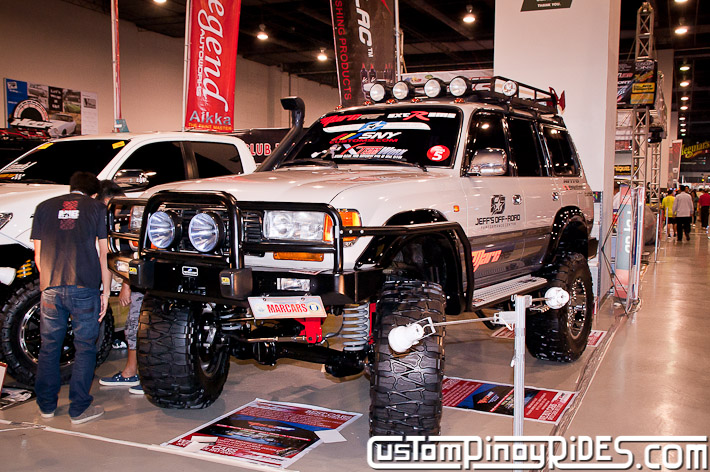 Mark Martinez 1996 Toyota Land Cruiser 80 Jeffs Off Road Shop Manila Auto Salon Custom Pinoy Rides pic3