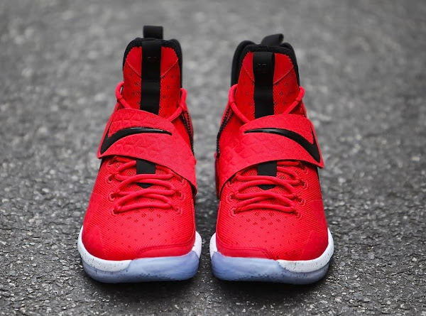 Nike LeBron 14 University Red  Release Date