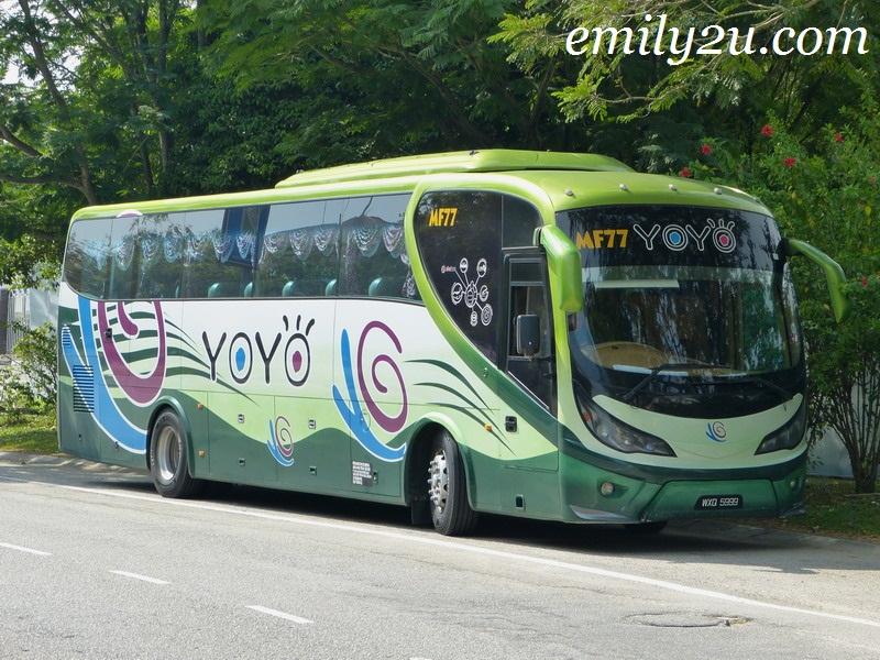 Yoyo Bus Timetable: Ipoh - KLIA - KLIA2