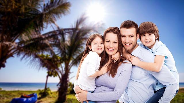 Mutlu, huzurlu aile